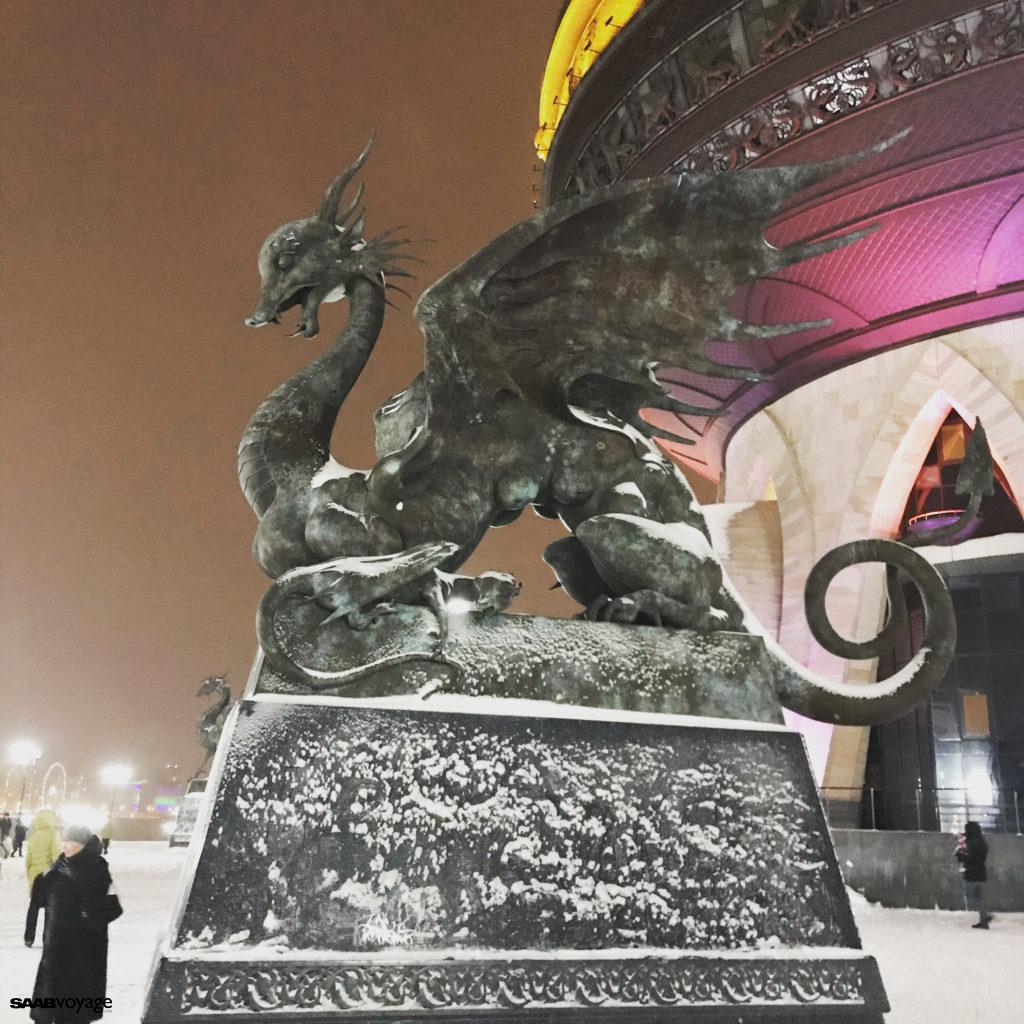 smok w Kazaniu
